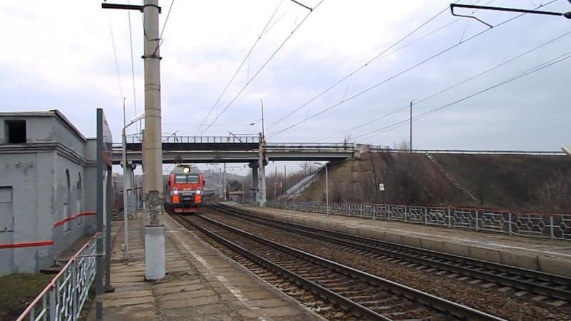 Дубль №2. ЭП1М-771 (ТЧЭ-3 Россошь, ЮВЖД), перегон Александровка-Кизитеринка (о.п. Большой Лог), 14 февраля 2016 года.