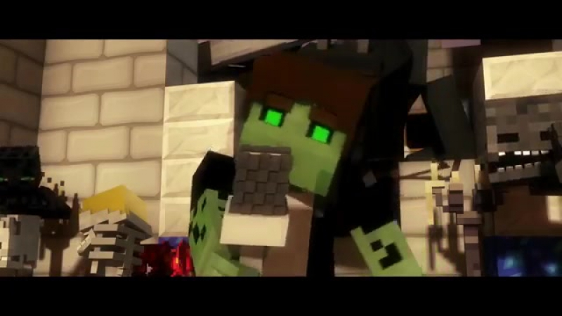 ♫ Villagers - A Minecraft Parody Song of Sugar By Maroon 5 (Music Video) Animation