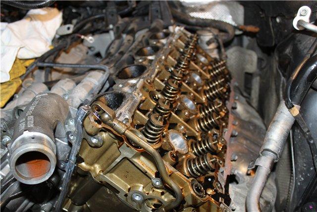 Ремонт двигателя на Порше Каен