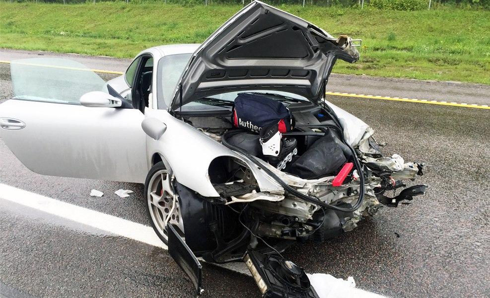 Ремонт кузова Порше 911
