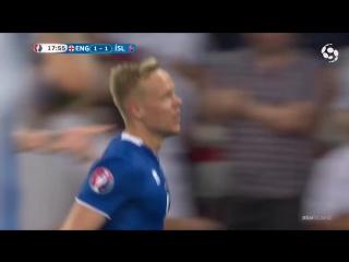 Исландский комментатор вернулся.