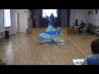 Мисс Округа - 2016. Национальный казахский танец.