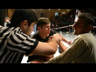 Северная Осетия-Алания по армрестлингу# Чемпионат РСО - Алания по армрестлингу-2016# Джамбот Золов - Гоча Гобозов