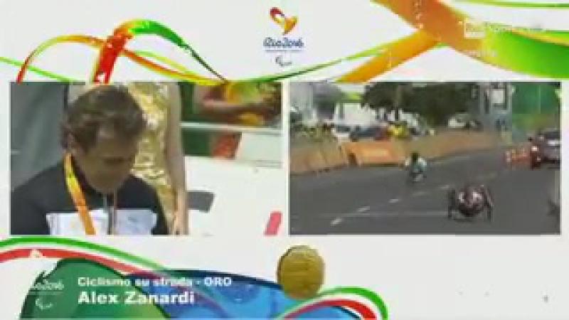 Superação, Alex Zanardi recebeu sua medalha de ouro nos Jogos Paraolímpicos do Rio