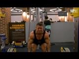 Тренировка мышц спины. Далер Исматов