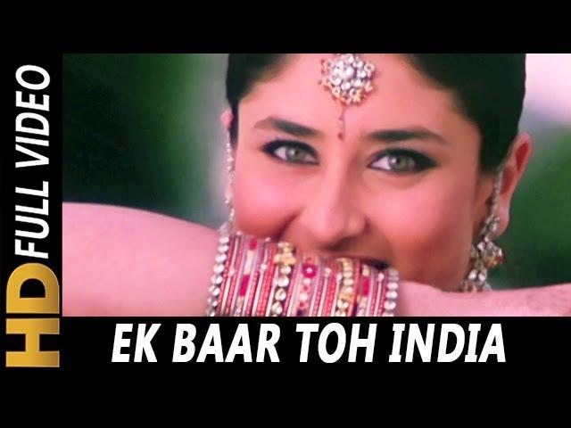 Ek Baar Toh India | Alka Yagnik | Jeena Sirf Merre Liye 2002 | Kareena Kapoor, Tusshar Kapoor