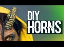 DIY Cuernos Horns ·Worbla Cosplay Tutorial · How To Make Devil Horns · Cómo hacer cuernos de Demonio