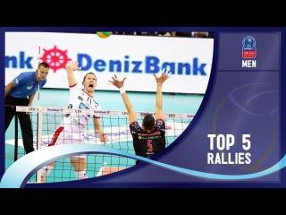Stars in Motion Episode 11- Top 5 Rallies - 2016 CEV DenizBank Volleyball Champions League - Men