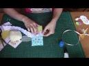 МК мягкий тканевый конверт для денежного подаркаСкрапбукингСкрап для новичков
