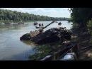 В Воронежской области подняли со дна реки редкий танк Т-34-76