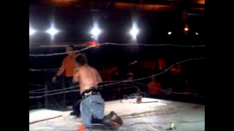 Joey Terrofyin vs. Mad Man Pondo vs. Chuey Martinez vs. Moshpit Mike [Deathmatch with Special Referee Mick Foley]