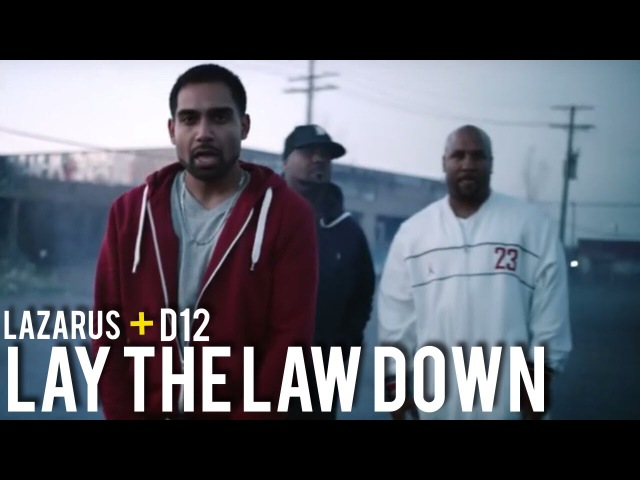 Lazarus ft. D12 (Swifty McVay, Kuniva) - Lay The Law Down | Desi Hip Hop Inc