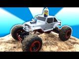Гигантская Машинка на радиоуправлении. Обзор и Гонки с Maisto. Crawler. Climber 4x4. Off-road Truck