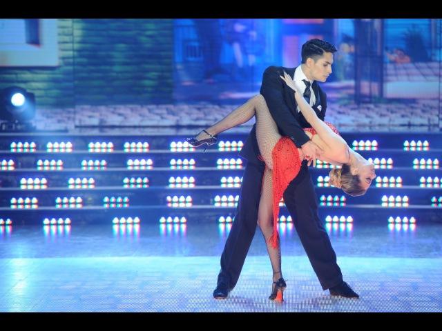 ¡El Tango perfecto! Gisela Bernal le sacó viruta al piso