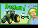 Tractors for Kids – Learn Farm Vehicles and Equipment with Blippi