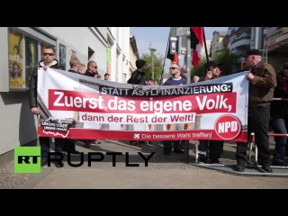 Germany: NPD's candidate for Pankow arrested during far-right rally in Berlin