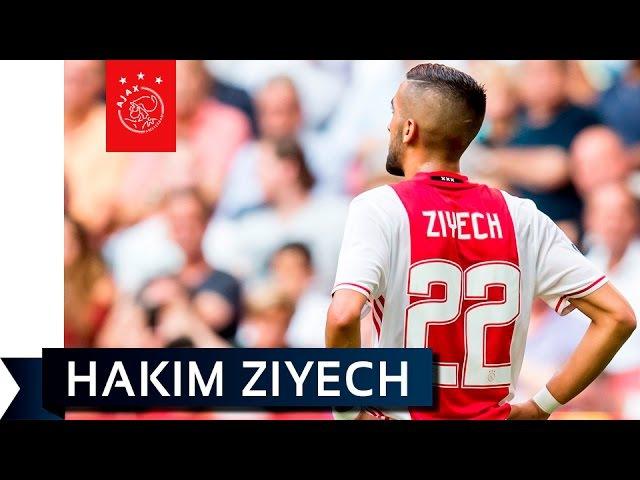 Het debuut van Hakim Ziyech
