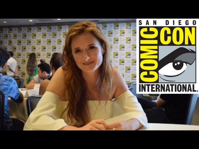 SDCC 2016 | Grace Gummer Talks Mr. Robot Season 2