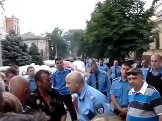 СМОТРЕТЬ..!!! Мариуполь Люди восстали после АТО.. батальона Азов... 13 июня