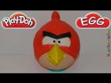 Распаковка Огромное Яйцо Плей До Энгри Бёрдс ANGRY BIRDS Surprises Сюрпризы Киндер Джой Игрушки