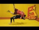 Бросок прогиб в MMA через удар коленом Чемпион ACB Абдул Азиз Абдулвахабов