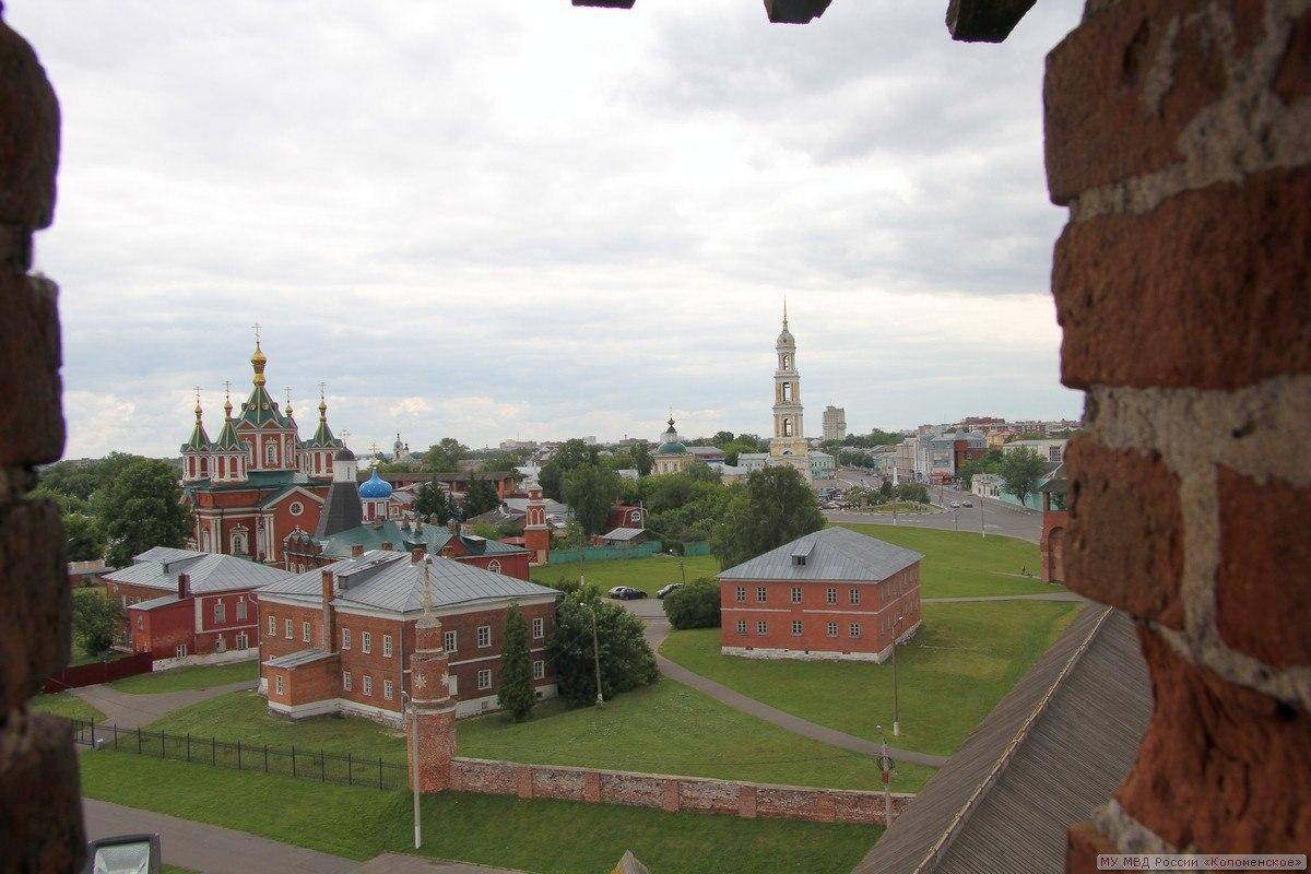 Кремль Фото Коломна, фото Коломны Кремль вид сверху