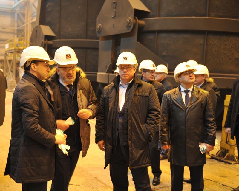 На ТАГМЕТе побывал с визитом заместитель председателя Правительства РФ Аркадий Дворкович