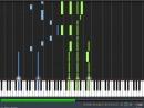 Vampire-knight-futatsu-no-kodou-to-akai-tsumi PIANO TUTORIAL SHEET MUSIC MIDI SYNTHESIA