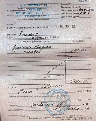 ФОРМА 242 КВИТАНЦИЯ РАЗНЫХ СБОРОВ СКАЧАТЬ БЕСПЛАТНО