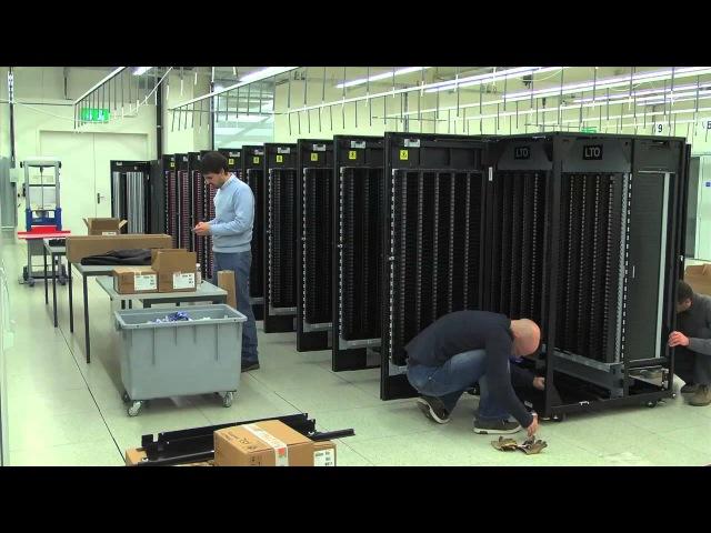 Installation of an IBM TS3500 tape lIbrary at CSCS » Freewka.com - Смотреть онлайн в хорощем качестве