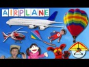 First Words Song 17 AIRPLANE | Learn 6 Things in the Sky | Learn English Kids