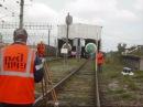 Уход вагонов и столкновение на станции Кинель 2013 08 20