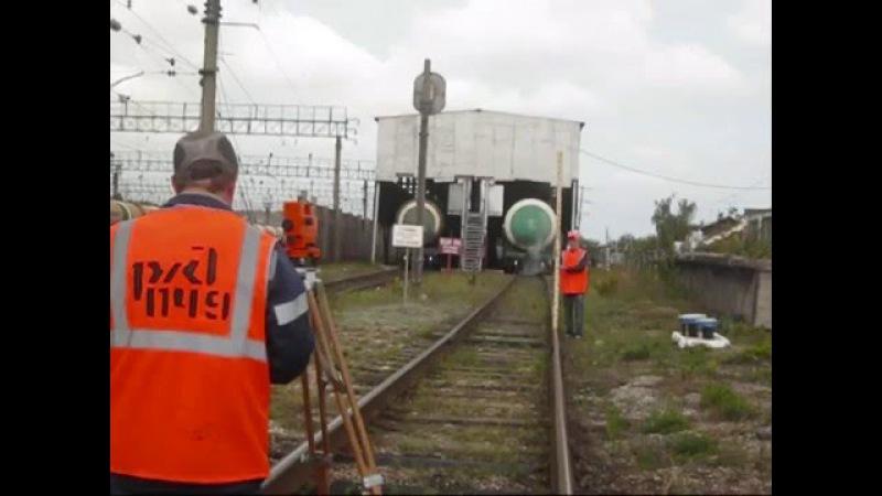 Уход вагонов и столкновение на станции Кинель 2013.08.20