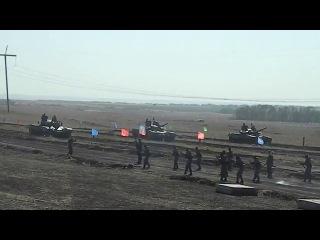 ДНР. Танковый биатлон (24.09.2015 г.)