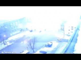 Доказательство грозы в Новосибирске 12 2015 гроза зимой ! россия сибирь