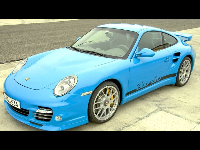 Porsche 911 Turbo Coupe Aerokit 997 2009–13