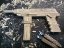 Как сделать пистолет пулемет своими руками Резьба Оружие из дерева