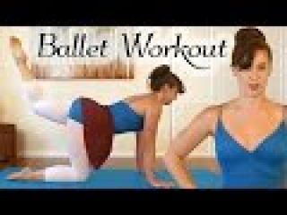 Ballet Workout: Total Body Toning, 20 Minute At Home Beginner Dance Fitness, Inner Thighs, Lean Legs