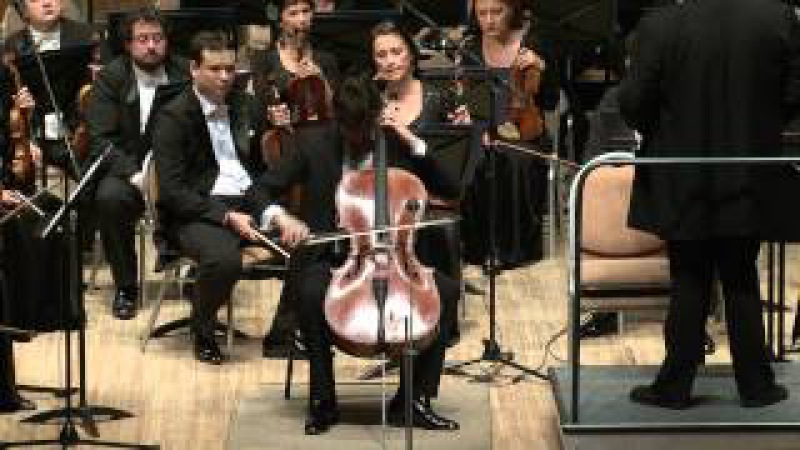 P.Tchaikovsky. The Variations on a Rococo Theme for cello and orchestra
