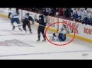 Grabovski boarding major on Sedin - Canucks vs Islanders 1/17/16