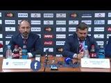Послематчевая пресс-конференция ХК ЦСКА - ХК СКА 24.03.2016
