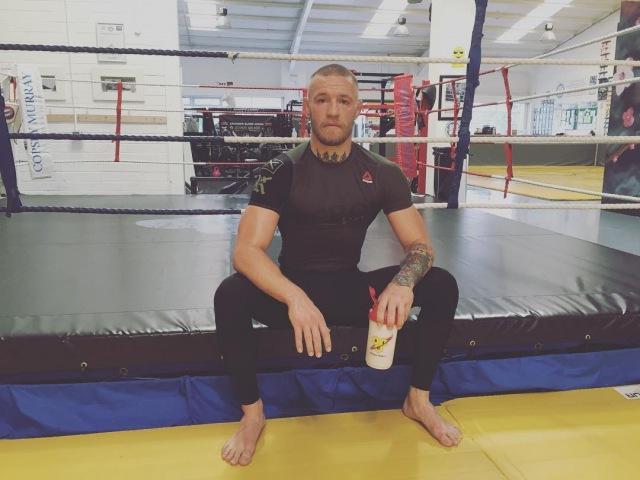 Новый спарринг-партнер Конора МакГрегора, боец UFC провалил тест на отвагу