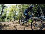 Danny Hart's BLAZING MTB Winning Run at Mont-Sainte-Anne UCI MTB World Cup 2016