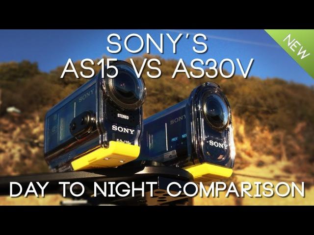 Side by Side: Sony AS15 vs AS30V