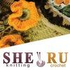 SHERU Вязание крючком и на спицах