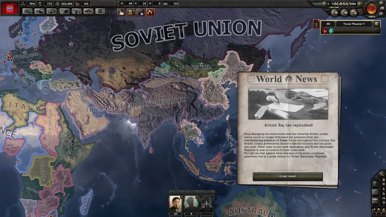Tannu Tuva World Conquest | Paradox Interactive Forums