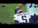 Vikings Teddy Bridgewater throws end zone INT