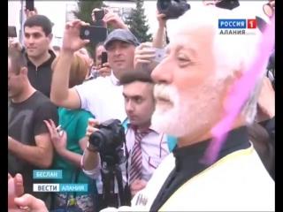 Россия-Алания В Северную Осетию вернулся победитель игр в Бразилии