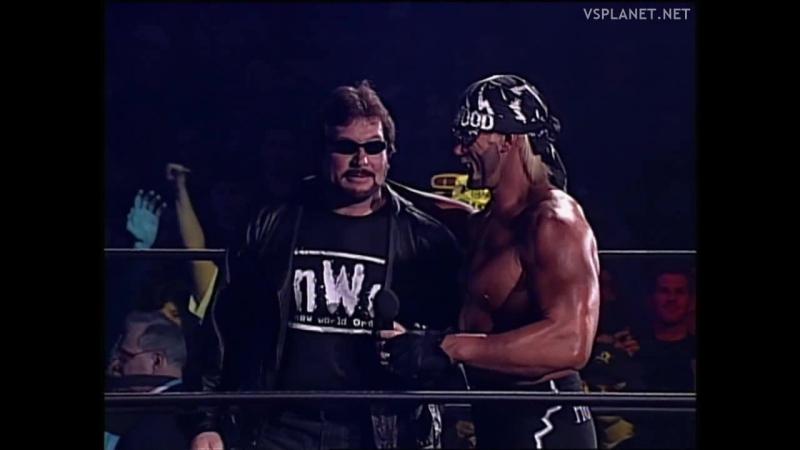 Hulk Hogan closes WCW Monday Nitro 20.01.1997