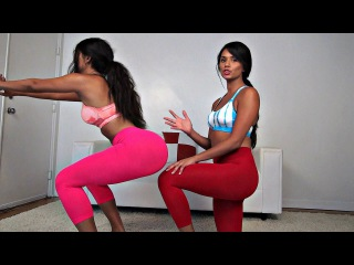 Simple Home Butt Workout with Twin Sisters
